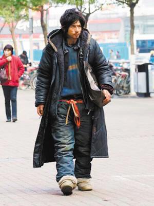 日本很帥的乞丐