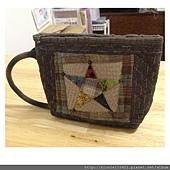 五角星咖啡杯手提袋