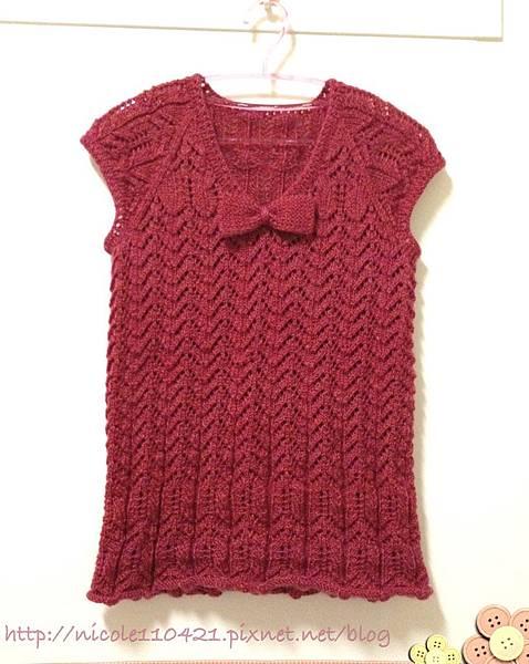 (十二):拉克蘭蝴蝶結包袖毛衣-1