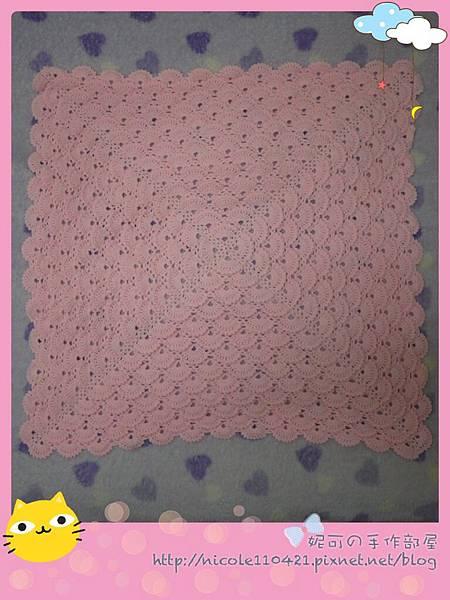 鉤針寶寶毯-1