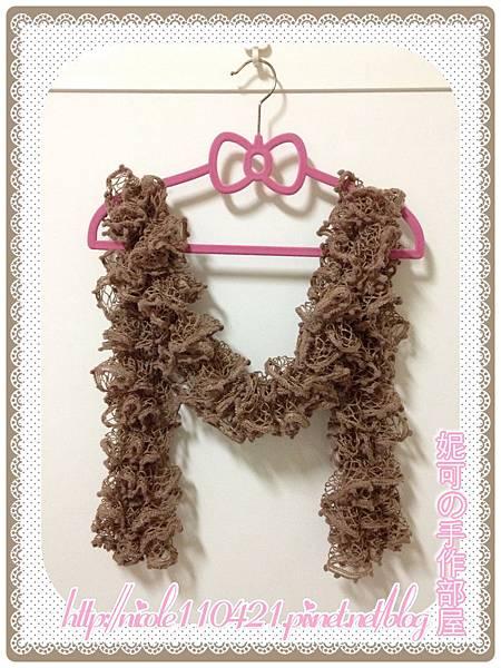 網紗波浪圍巾-1