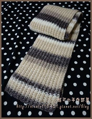一直下下上段染圍巾-1