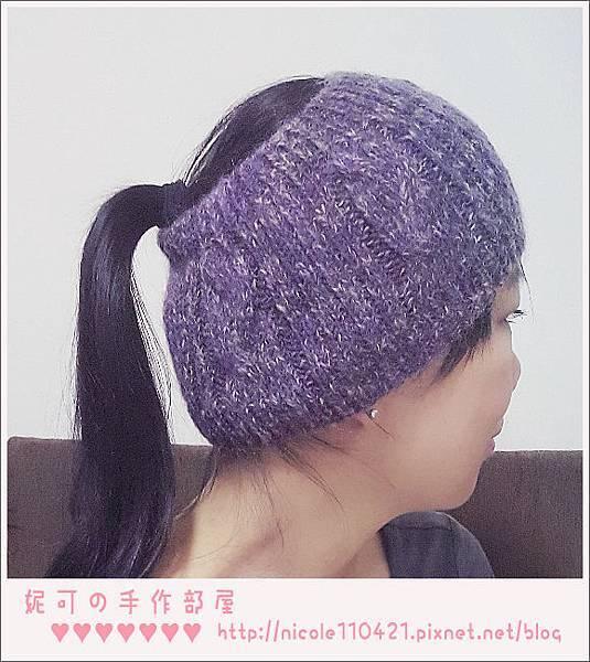 是髮帶也是毛帽-3