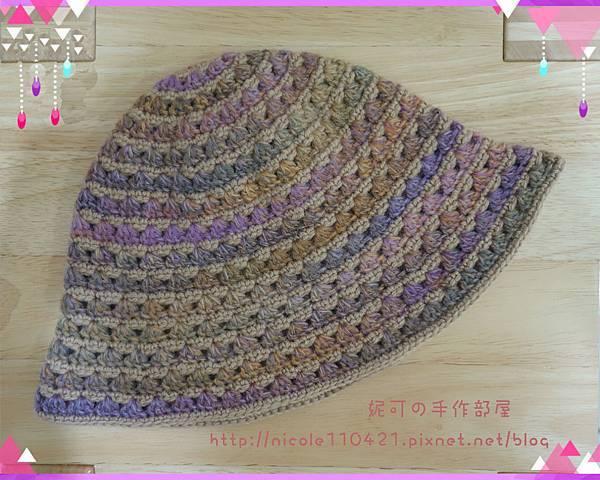 寶石格紋漁夫帽-1