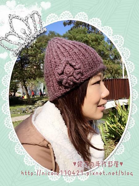 台妹風毛帽-1