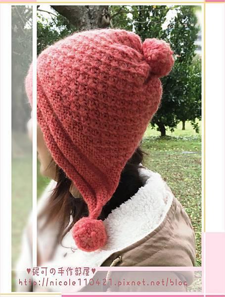雛菊花邊帽-1