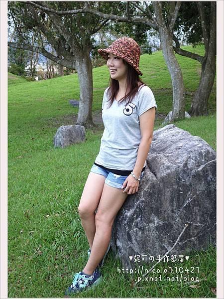 第三頂拉菲草帽(失敗的牛仔帽)-3