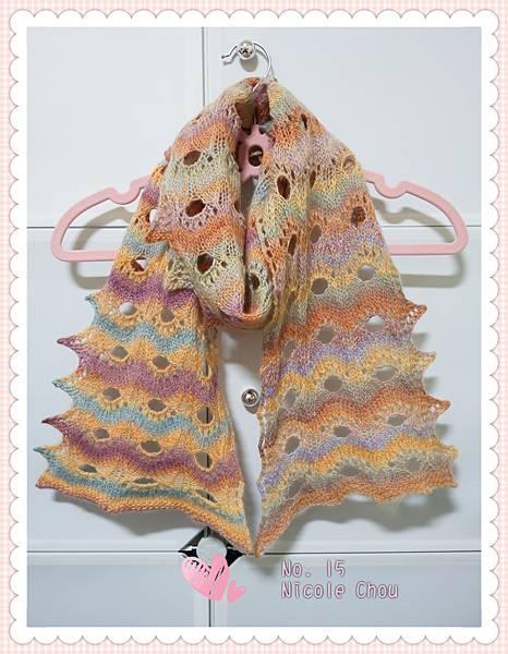 洞洞圍巾-2