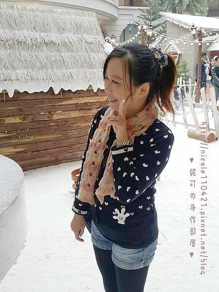洞洞圍巾-6
