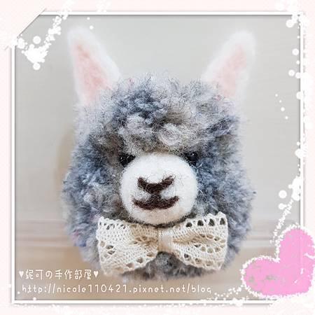 小羊駝別針-4