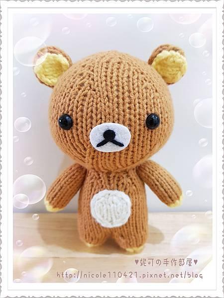 拉拉熊(棒針)-1