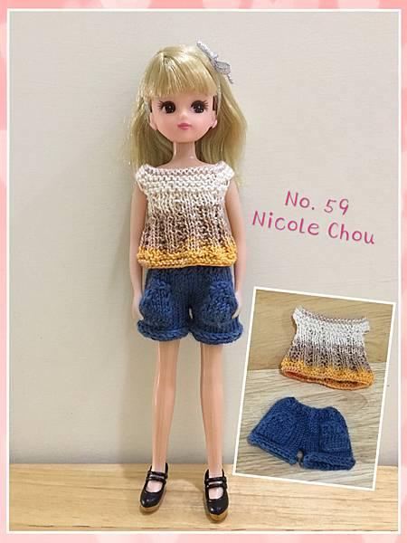 棒針娃衣團織-清涼夏裝-4