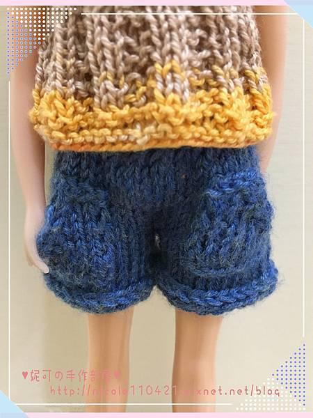 棒針娃衣團織-清涼夏裝-3