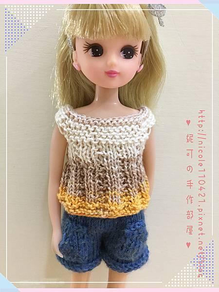 棒針娃衣團織-清涼夏裝-1