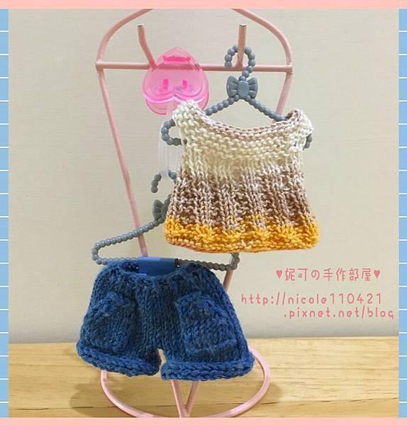 棒針娃衣團織-清涼夏裝-2