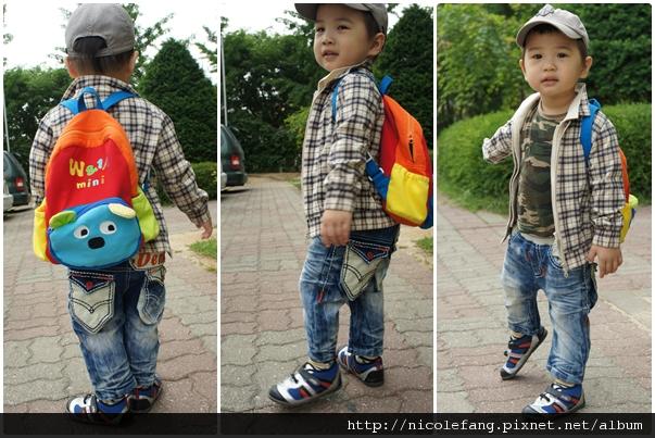 韓風男童牛仔褲