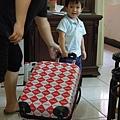 大阿姨送的可口可樂復古行李箱