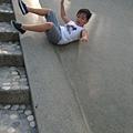 竹北石頭溜滑梯