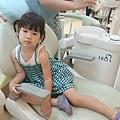 第2次塗氟@安徒生兒童牙醫