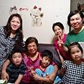 回台北慶祝母親節