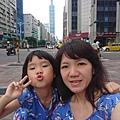 回台北阿嬤家過母親節