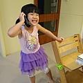 第一次跟同學通電話