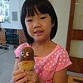 Buny阿姨做的菠蘿企鵝麵包