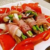 2008-09-14 烤紅椒&培根捲
