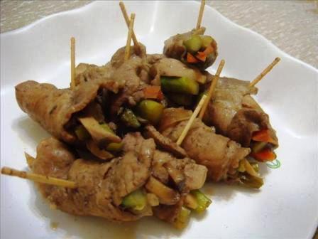 2008-09-14 壽喜豬肉捲