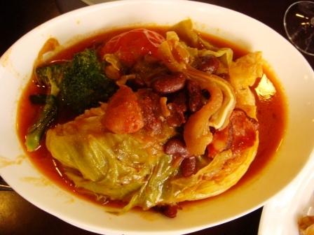 葡式燴椰菜@小飛象葡國餐廳