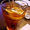 凍檸檬茶@必達士