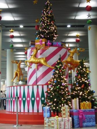 聖誕旋轉木馬@澳門機場