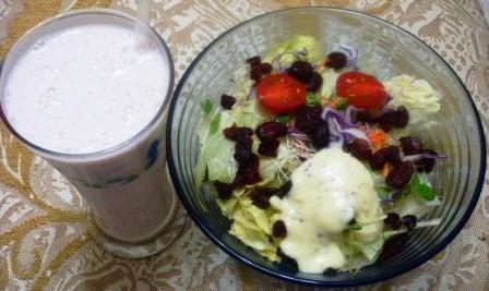 健康蔬食沙拉餐