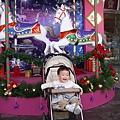 新竹大遠百聖誕木馬
