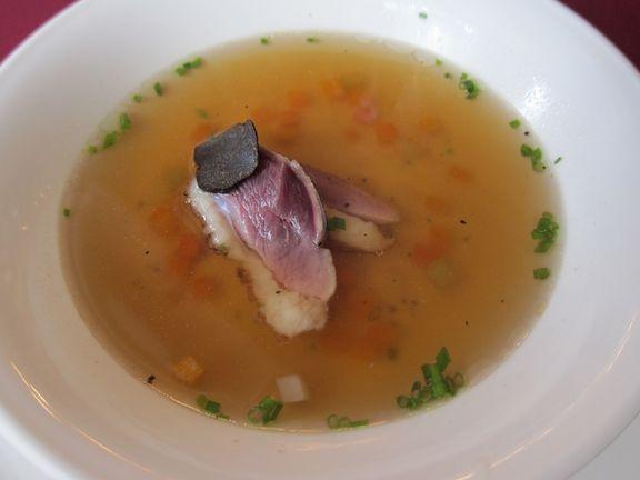 黑松露鴨肉清湯