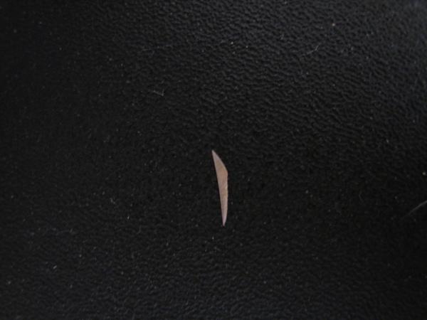 還是刺阿?好小一顆 可是看起來形狀有點像