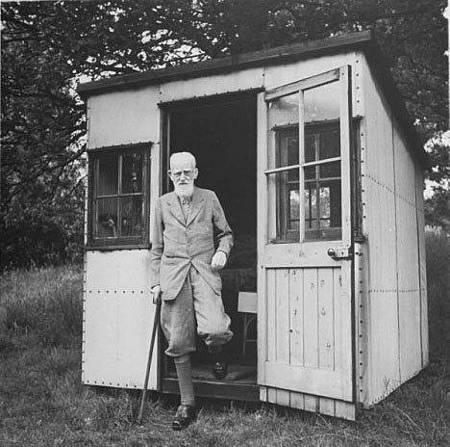 Bernard Shaw 的 writing hut  ~01