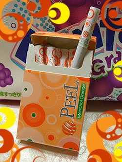 Peel~menthol orange