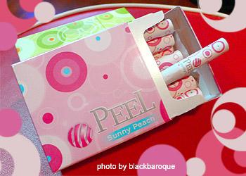 Peel~sunny peach