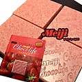 明治~草莓60%巧克力