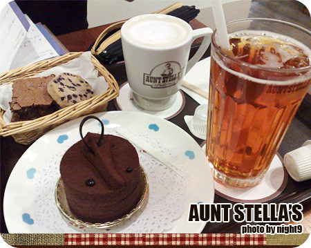 Aunt Stella's Afternoon tea