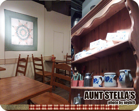 Aunt Stella's Afternoon tea room