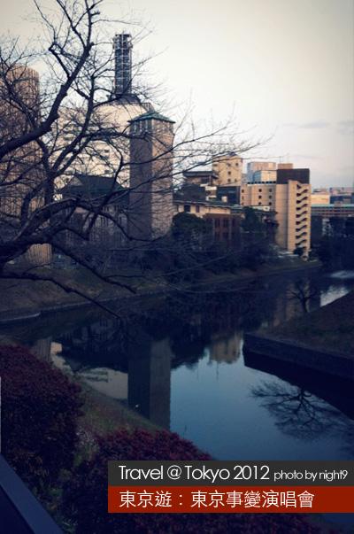 東京第一日.邊吃邊看風景