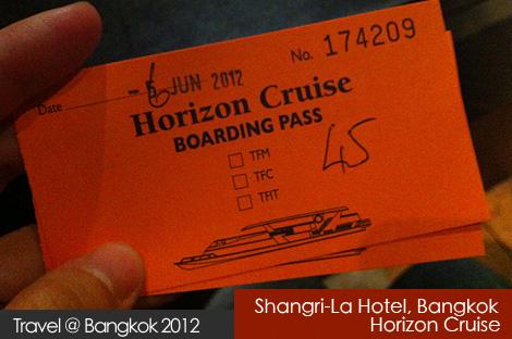 Shangri-La Hotel Bangkok, Horizon Cruise