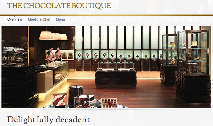 The Chocolate Boutique