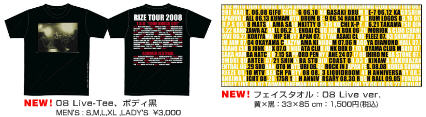 2008 RIZE Taiwan Concert goods