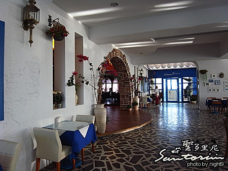 聖多里尼海岸咖啡~地中海風情