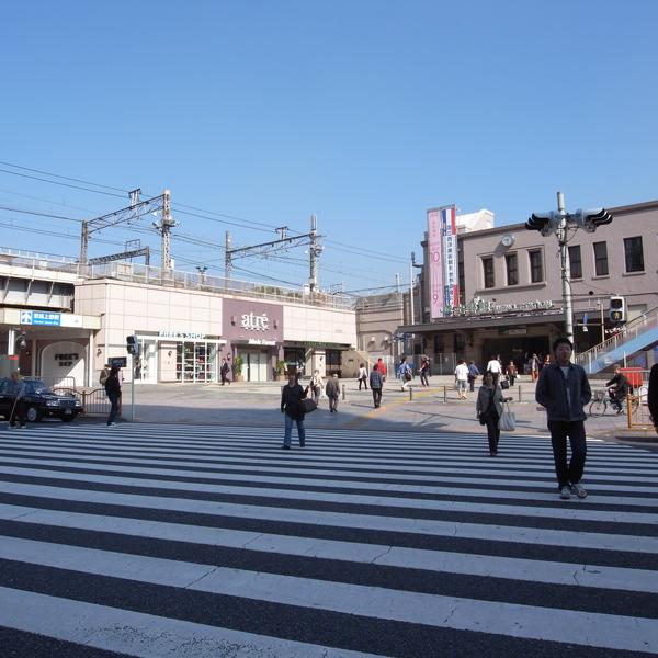 JR上野駅前馬路