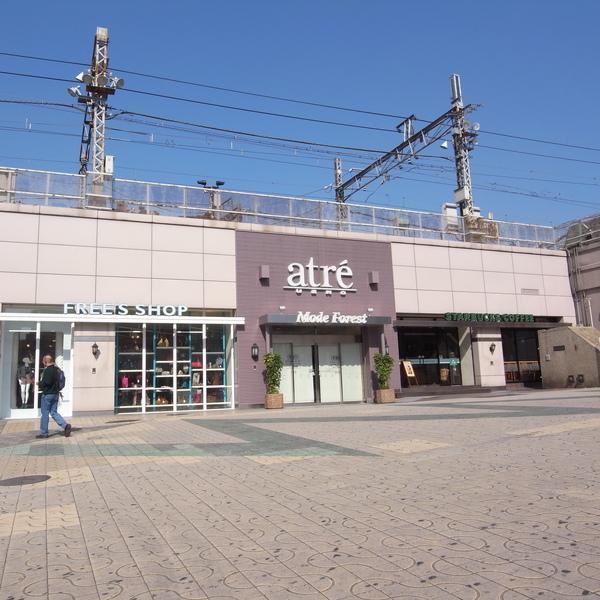 緊連著JR上野駅的atre