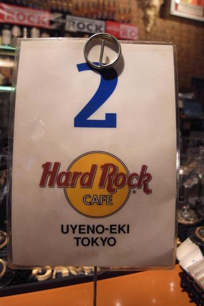 JR上野駅Hard Rock牌子